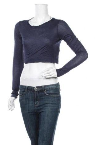 Γυναικεία μπλούζα Zara, Μέγεθος S, Χρώμα Μπλέ, Μοντάλ, Τιμή 19,00€
