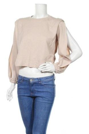 Γυναικεία μπλούζα Zara, Μέγεθος S, Χρώμα  Μπέζ, Τιμή 172,48€