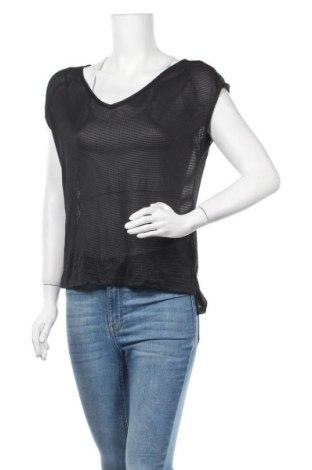 Дамска блуза Zebra, Размер S, Цвят Черен, Полиестер, Цена 17,01лв.