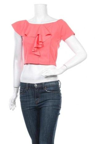 Дамска блуза Zebra, Размер S, Цвят Розов, 95% полиестер, 5% еластан, Цена 14,18лв.