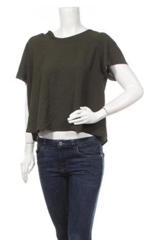 Дамска блуза Zebra, Размер M, Цвят Зелен, Полиестер, Цена 14,18лв.