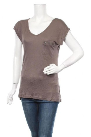 Дамска блуза Zebra, Размер M, Цвят Сив, Вискоза, Цена 12,50лв.