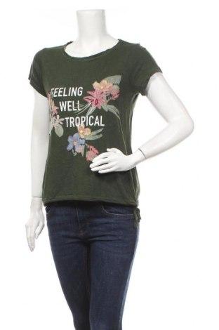 Γυναικεία μπλούζα Zero, Μέγεθος M, Χρώμα Πράσινο, 50% βαμβάκι, 50% μοντάλ, Τιμή 6,82€