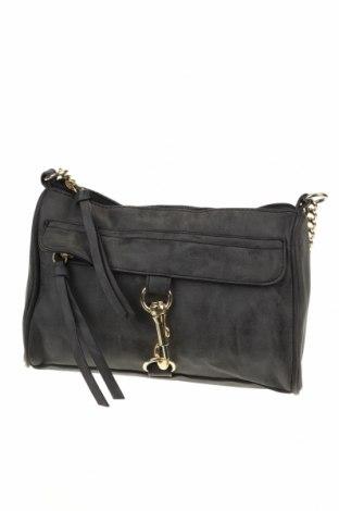 Γυναικεία τσάντα, Χρώμα Γκρί, Δερματίνη, Τιμή 12,70€