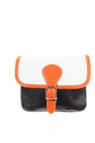 Дамска чанта, Цвят Бял, Естествена кожа, Цена 16,54лв.