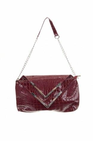 Γυναικεία τσάντα, Χρώμα Βιολετί, Δερματίνη, Τιμή 9,35€