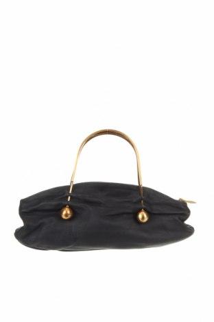 Дамска чанта, Цвят Син, Естествена кожа, метал, Цена 60,90лв.