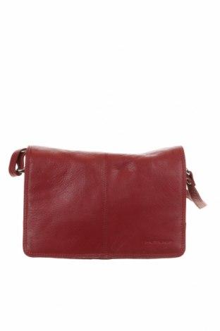 Γυναικεία τσάντα, Χρώμα Κόκκινο, Γνήσιο δέρμα, Τιμή 33,90€