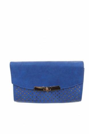 Γυναικεία τσάντα, Χρώμα Μπλέ, Δερματίνη, Τιμή 15,20€