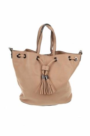 Γυναικεία τσάντα, Χρώμα  Μπέζ, Δερματίνη, Τιμή 7,31€