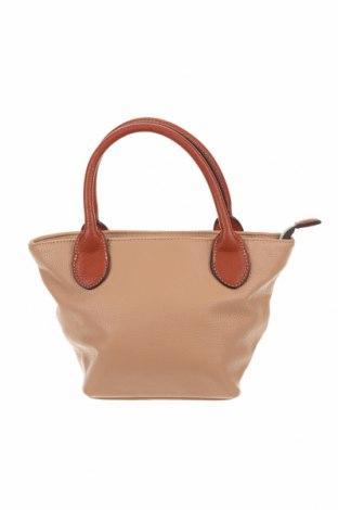 Γυναικεία τσάντα, Χρώμα  Μπέζ, Δερματίνη, Τιμή 6,72€