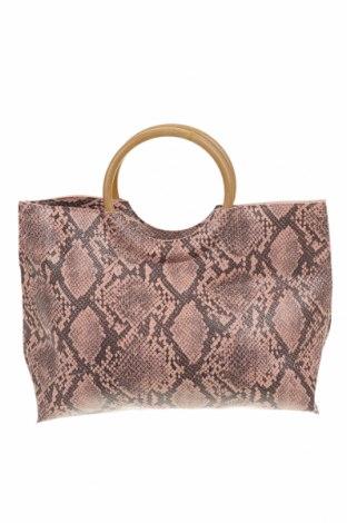 Γυναικεία τσάντα, Χρώμα Ρόζ , Δερματίνη, Τιμή 16,37€