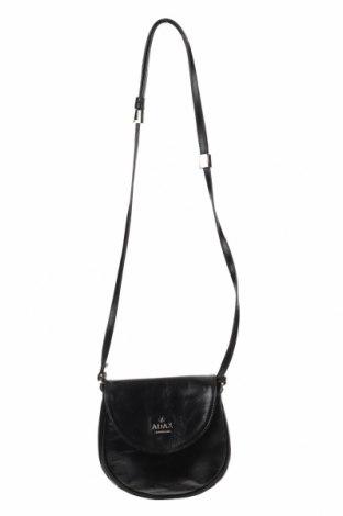 Γυναικεία τσάντα Adax, Χρώμα Μαύρο, Γνήσιο δέρμα, Τιμή 27,37€