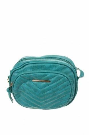 Дамска чанта Atmosphere, Цвят Зелен, Еко кожа, Цена 21,42лв.