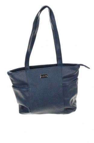 Γυναικεία τσάντα Cabrelli, Χρώμα Μπλέ, Δερματίνη, Τιμή 10,23€