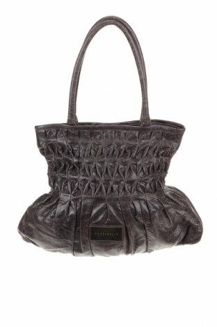 Γυναικεία τσάντα Coccinelle, Χρώμα Γκρί, Γνήσιο δέρμα, Τιμή 87,65€