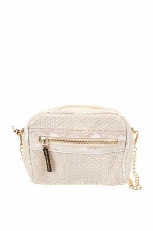 Дамска чанта Colette By Colette Hayman, Цвят Екрю, Други тъкани, еко кожа, метал, Цена 15,59лв.
