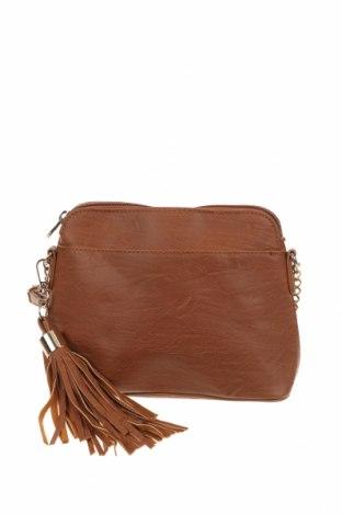 Γυναικεία τσάντα Colette By Colette Hayman, Χρώμα Καφέ, Δερματίνη, Τιμή 7,02€