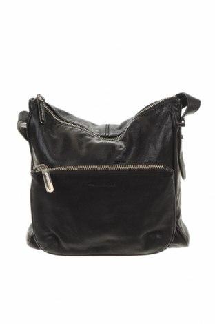 Γυναικεία τσάντα Country Road, Χρώμα Μαύρο, Γνήσιο δέρμα, Τιμή 60,47€