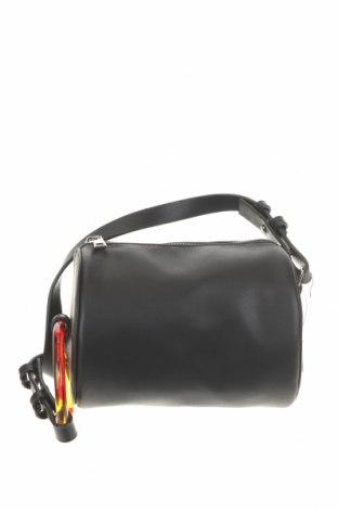 Γυναικεία τσάντα Cropp, Χρώμα Μαύρο, Δερματίνη, Τιμή 8,84€