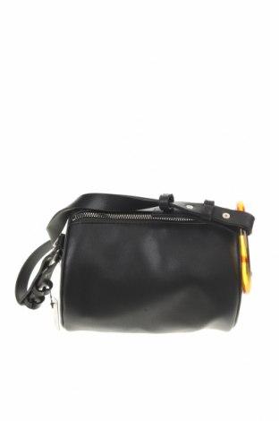 Дамска чанта Cropp, Цвят Черен, Еко кожа, Цена 19,60лв.