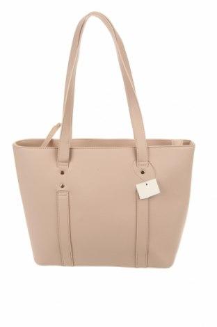 Дамска чанта Cropp, Цвят Розов, Еко кожа, Цена 69,00лв.