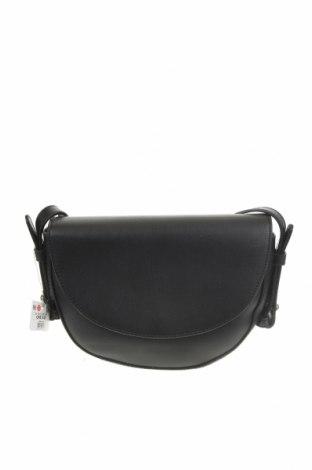 Дамска чанта Cropp, Цвят Черен, Еко кожа, Цена 21,07лв.