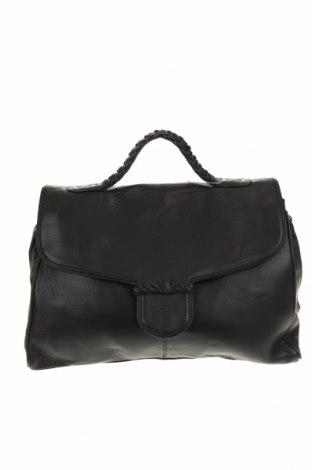 Дамска чанта David Lawrence, Цвят Черен, Естествена кожа, Цена 99,96лв.
