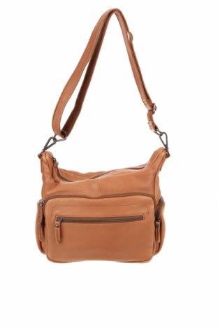 Дамска чанта FREDsBRUDER, Цвят Кафяв, Естествена кожа, Цена 62,95лв.