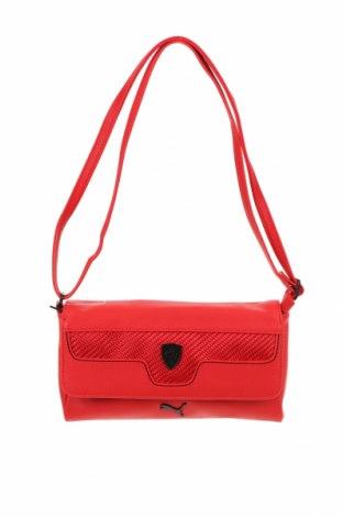 Дамска чанта Ferrari X Puma, Цвят Червен, Еко кожа, Цена 31,60лв.