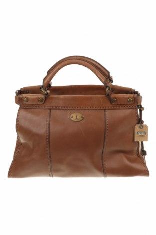 Γυναικεία τσάντα Fossil, Χρώμα Καφέ, Γνήσιο δέρμα, Τιμή 106,95€