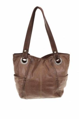 Γυναικεία τσάντα Fossil, Χρώμα Καφέ, Γνήσιο δέρμα, Τιμή 38,04€