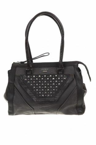 Дамска чанта Guess, Цвят Черен, Еко кожа, Цена 244,76лв.
