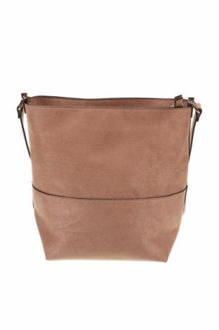 Γυναικεία τσάντα H&M, Χρώμα  Μπέζ, Κλωστοϋφαντουργικά προϊόντα, Τιμή 14,84€