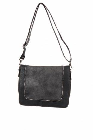 Дамска чанта Helline, Цвят Черен, Еко кожа, Цена 28,35лв.
