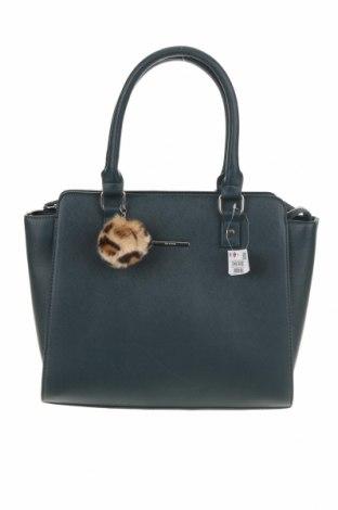 Γυναικεία τσάντα House, Χρώμα Πράσινο, Δερματίνη, Τιμή 18,25€