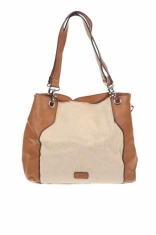Γυναικεία τσάντα JAG, Χρώμα Καφέ, Δερματίνη, κλωστοϋφαντουργικά προϊόντα, Τιμή 22,80€