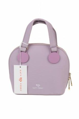 Γυναικεία τσάντα Katy Perry, Χρώμα Βιολετί, Δερματίνη, Τιμή 38,40€