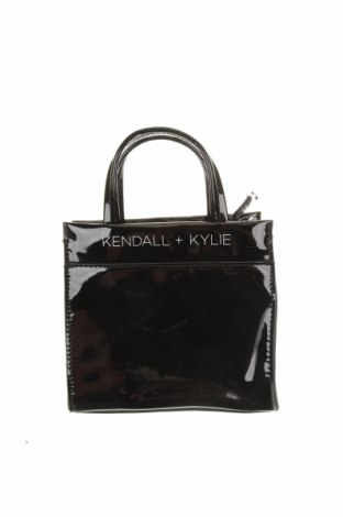 Дамска чанта Kendall & Kylie, Цвят Черен, Еко кожа, Цена 26,57лв.