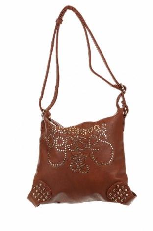 Γυναικεία τσάντα Le Temps Des Cerises, Χρώμα Καφέ, Δερματίνη, Τιμή 14,23€