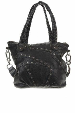 Γυναικεία τσάντα Liebeskind, Χρώμα Μαύρο, Γνήσιο δέρμα, Τιμή 44,16€