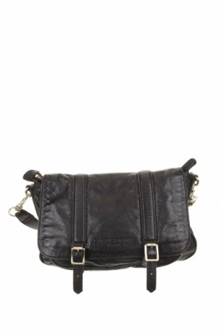 Дамска чанта Liebeskind, Цвят Черен, Естествена кожа, Цена 67,83лв.