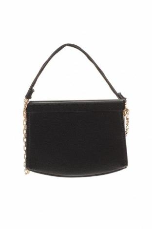 Γυναικεία τσάντα Mango, Χρώμα Μαύρο, Δερματίνη, μέταλλο, Τιμή 16,70€