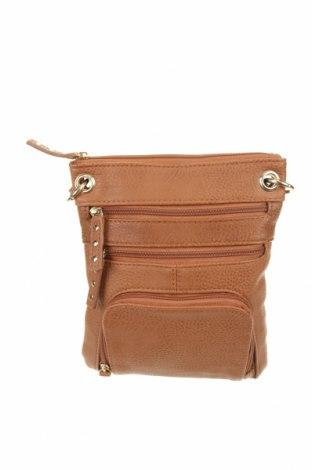 Γυναικεία τσάντα Marikai, Χρώμα Καφέ, Δερματίνη, Τιμή 16,37€