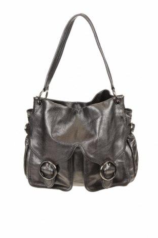 Дамска чанта Oroton, Цвят Сив, Естествена кожа, Цена 124,95лв.