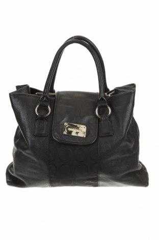 Γυναικεία τσάντα Oroton, Χρώμα Μαύρο, Γνήσιο δέρμα, κλωστοϋφαντουργικά προϊόντα, Τιμή 56,12€