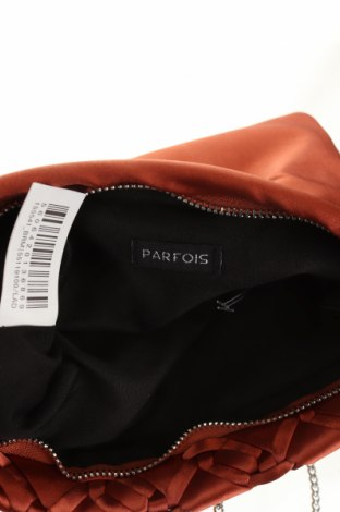 Дамска чанта Parfois, Цвят Кафяв, Текстил, Цена 18,90лв.