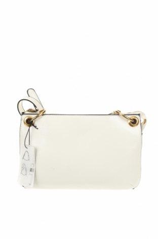 Дамска чанта Parfois, Цвят Бял, Еко кожа, Цена 59,00лв.