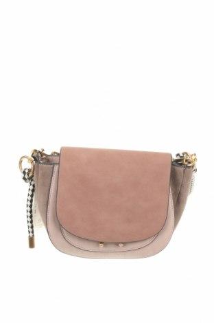 Дамска чанта Parfois, Цвят Розов, Еко кожа, текстил, Цена 59,00лв.