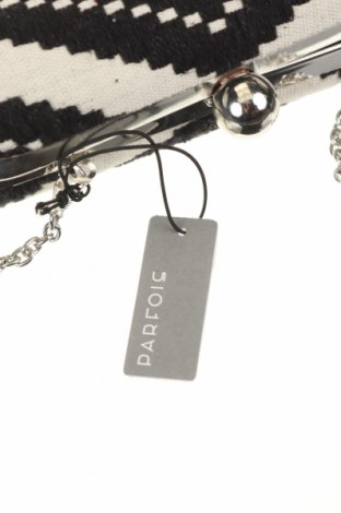 Дамска чанта Parfois, Цвят Бял, Текстил, Цена 16,17лв.